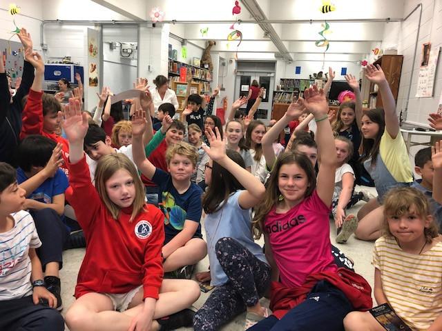 Triple Visit -- Junior Battle of the Books Winners
