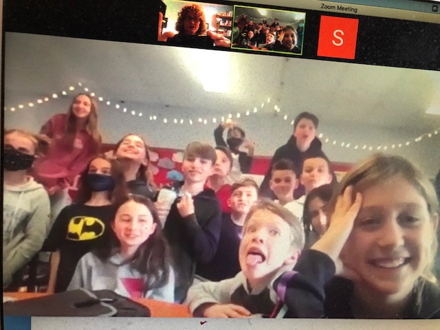 Oh happy day! Virtual Visit to Forest Hill Senior