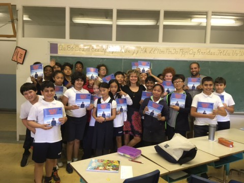 Book Launch at St. Monica School!!