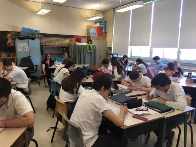 Writers Writing -- Day 2 at Royal Vale School